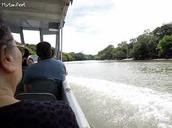 ¡Los personas en el barco!