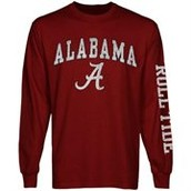 Alabama CrimsonTide long sleave shirt.
