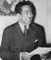 Langston Hughes in 1938.
