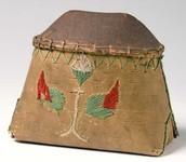 Birchbark container