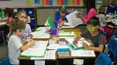 Desk and Grouping Arrangement