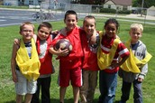 First Grade Soccer Players