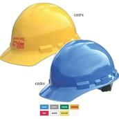 Granite Cap Style Hard Hat w/ 4 Point Pinlock Suspension