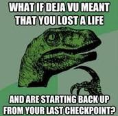 Deja Vu Dinosaur