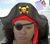 From your Friendly Pirate: Mrs. Glass