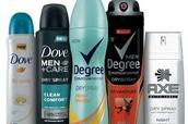 1.Deodorant