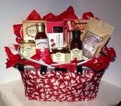 Holiday Hamper Gift Basket