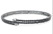 Radiance Coil bracelet- black