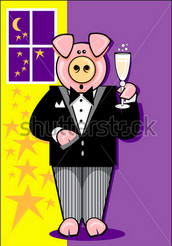 A party for the poshest of the porcine