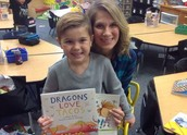 And the Mystery Reader was . . . .