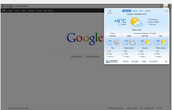 Extension: Gismeteo (Weather)