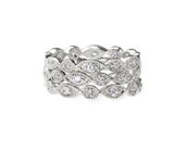Stackable Deco Rings Size 8
