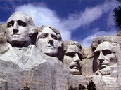 Mount Rushmore in the Black Hills