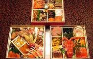 osechi-ryori in multyple boxes