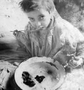 Hunger in the ghettos
