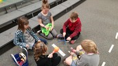 3rd Grade Music Students Practice Rhythms