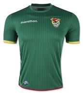 La camisa de fútbol de Bolivia!