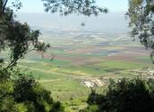 עמק יזרעאל שנמצא ליד עפרה