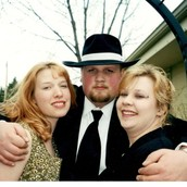Me with Bec (sister) & Jake (Brother)