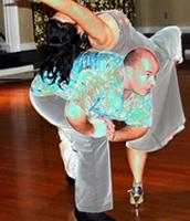 Modern Merengue Dancers