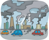 Cars and Factories omit harmful gasses that ruin our air