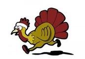"Buckingham's Annual ""Turkey Toss"""