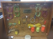 Display of the blasting supplies IMI uses at their quaries!