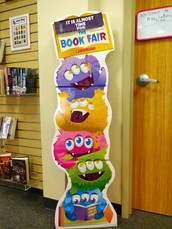 Mark your calendars for October 26th-30th. The 2015 MONSTER BOOK FAIR is almost here!!!