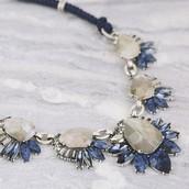 Northern Mist Statement necklace