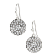 Etoile Drop Earrings (silver)