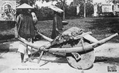 what were the wheelbarrows used for and how were they made?