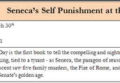 Seneca's Self Punishment