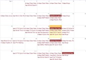 1. St. Paul School Calendar of Events