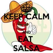 Entonces Disfrute de la salsa