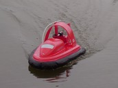 Hovercraft Model in Action