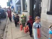 Parade down Main St.