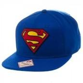 Superman Logo Blue Snapback