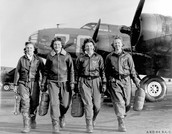 Woman had to work in the Auxiliary air force