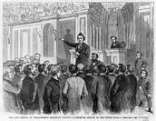 Vote to Impeach Andrew Johnson