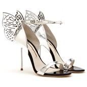Zapatos de plata