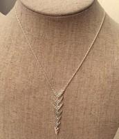 Arrow Drop Necklace - Originally $59 - Sale Price $45