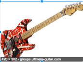 Another version of Eddie Van Halen's guitar