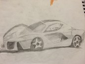 Kyle's Race Car Drawing