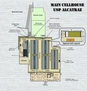 Alcatraz floor plan