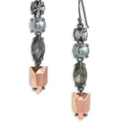 SOLD!!!!!    Kahlo Linear Earrings