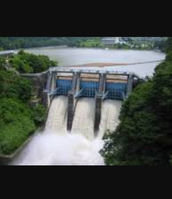 This a Dam in Puerto Bayerto