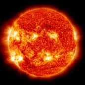 It takes one year for earth to rotate around the sun.