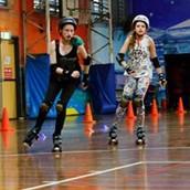 This is Samara and her sister skating ↑