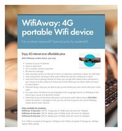 4G portable Wifi device @ 35€ monthly