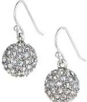 Soiree Earrings -- Silver